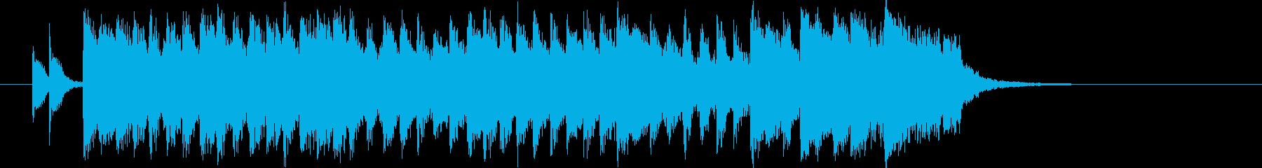 キラキラ 1980s ポップスの再生済みの波形