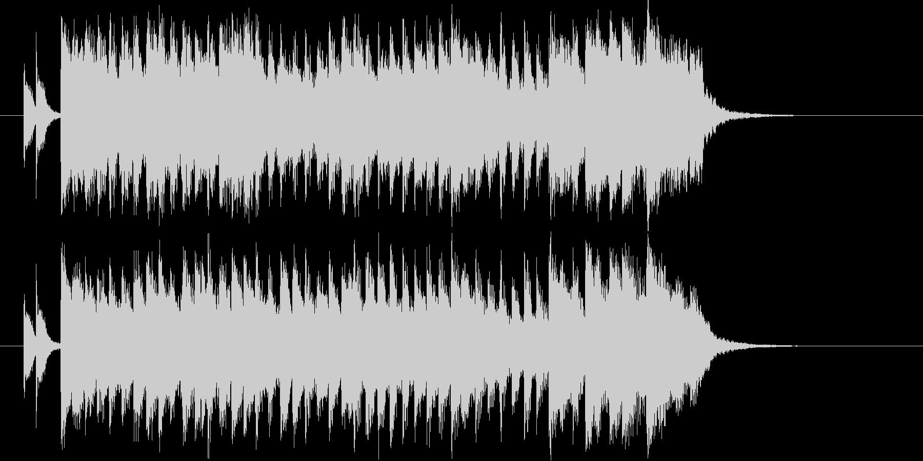 キラキラ 1980s ポップスの未再生の波形
