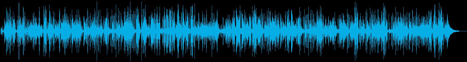おしゃれなパリの生演奏ライブジャズの再生済みの波形