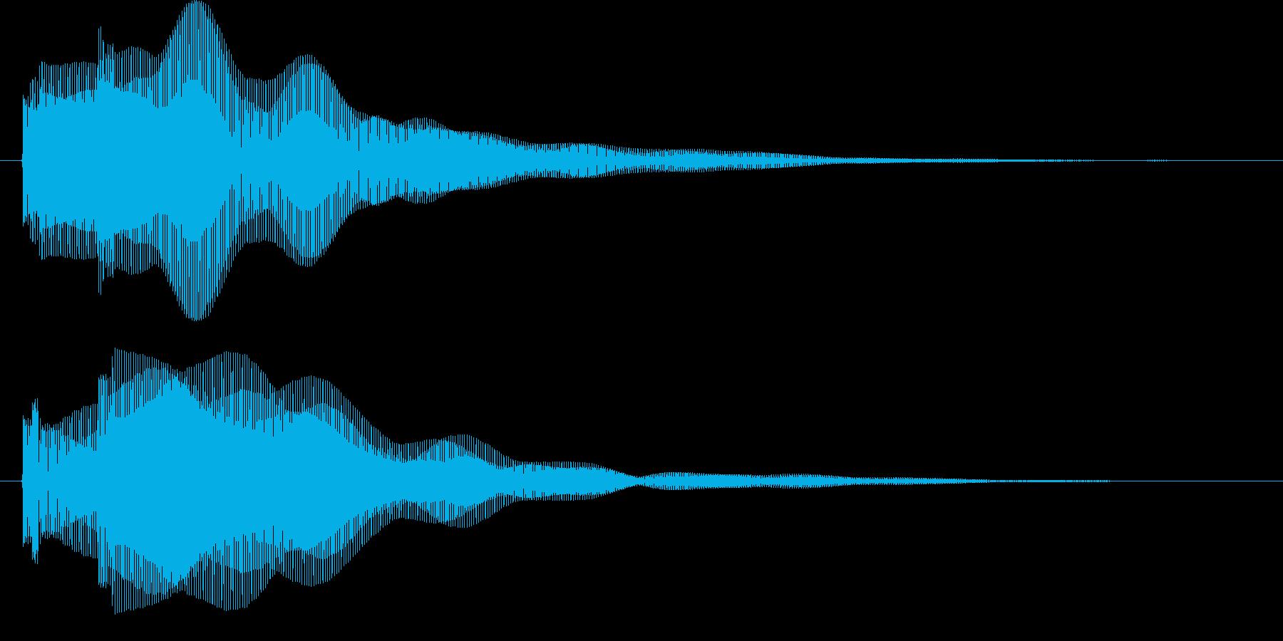 SE_Clickの再生済みの波形