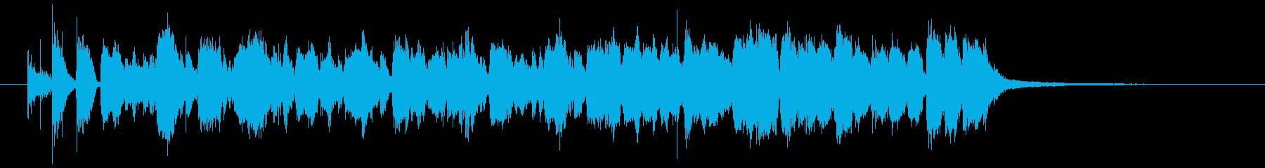 情熱大陸のOPのようなドキュメントBGMの再生済みの波形