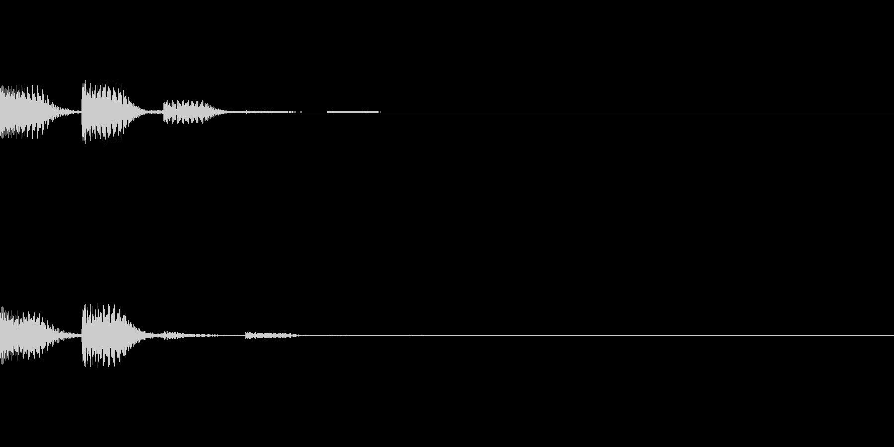 POPKEY ポップな通知音 1の未再生の波形