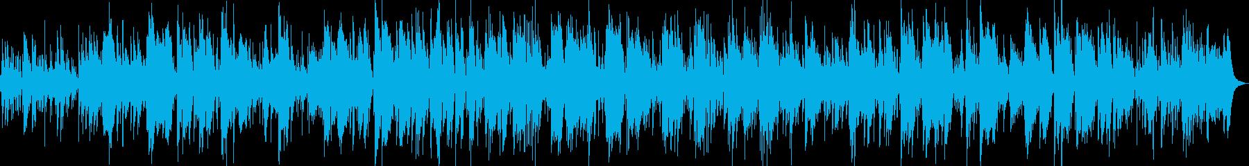 ムーディーな大人バイオリンボサノバジャズの再生済みの波形