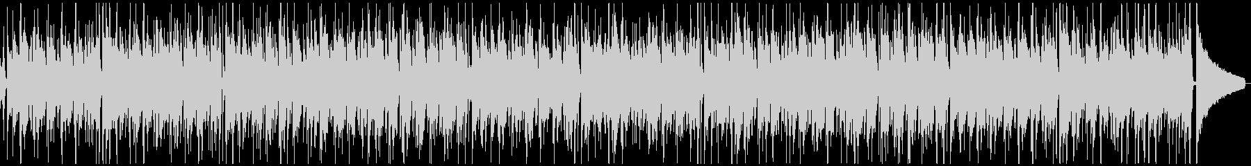 ウクレレのトロピカルな夏のレゲエ風BGMの未再生の波形
