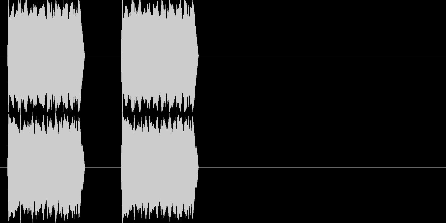 コール音 電話の未再生の波形