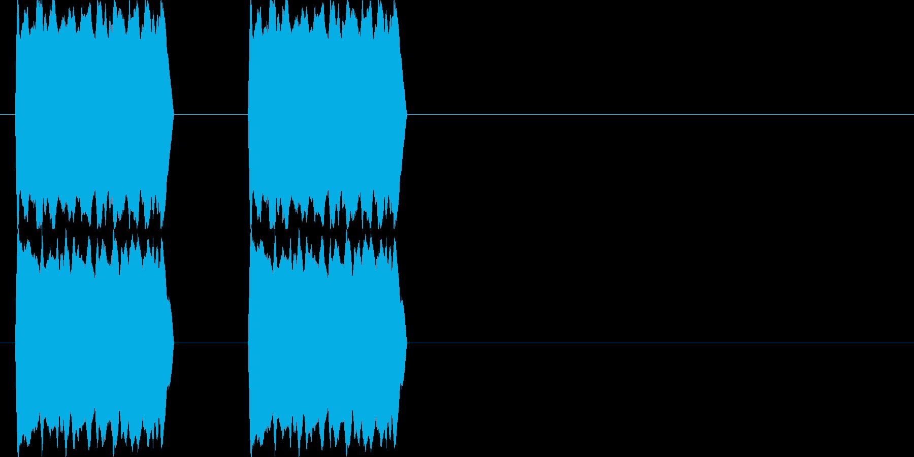 コール音 電話の再生済みの波形