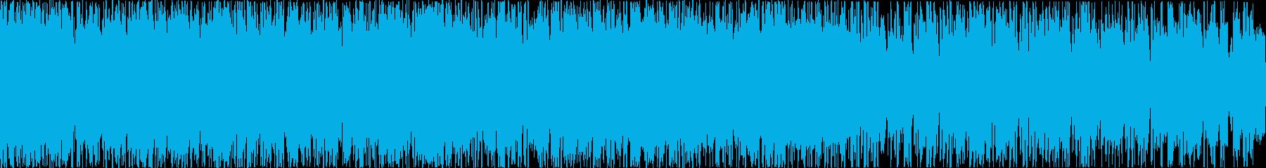 シンプル、シネマティック、エレクトロ、Lの再生済みの波形