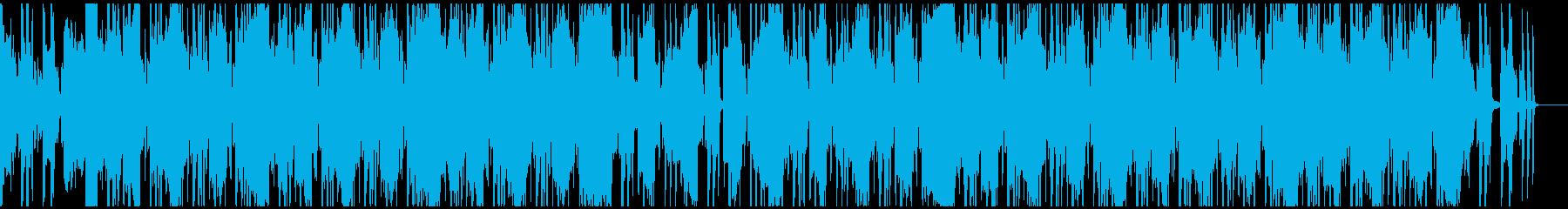 レトロ ギャングラップ ターンテー...の再生済みの波形