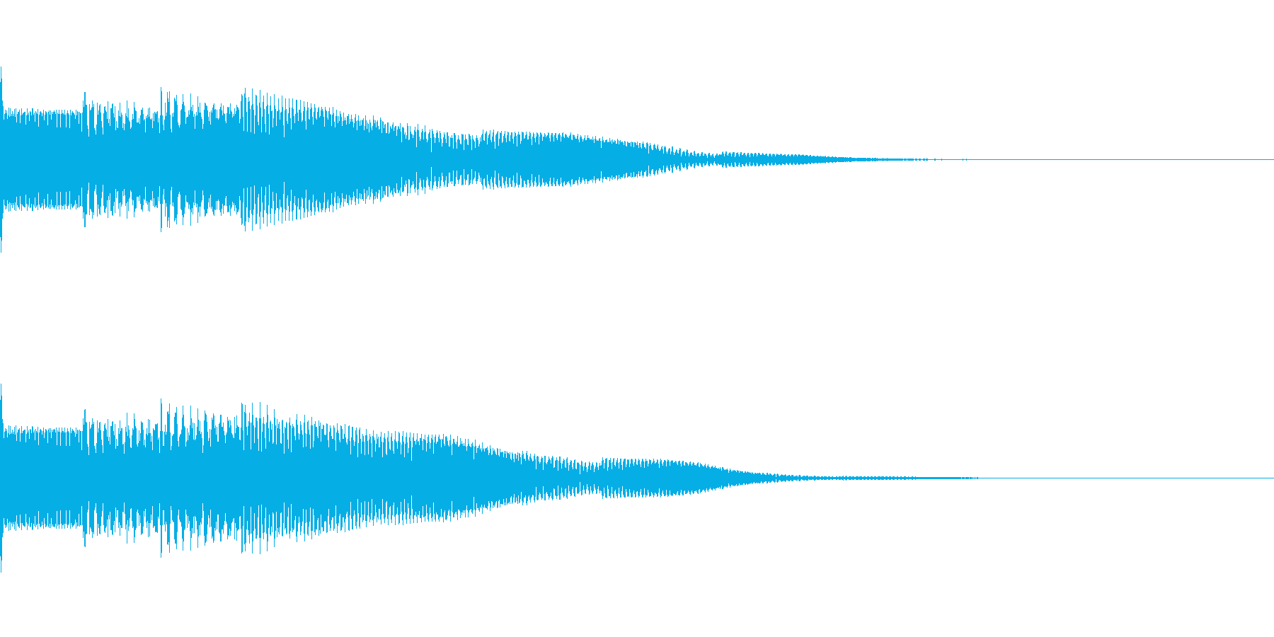 ピンポンパンポン アナウンス お知らせ の再生済みの波形