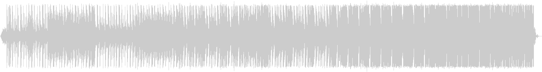ちょっとホラーな工場風BGMの未再生の波形