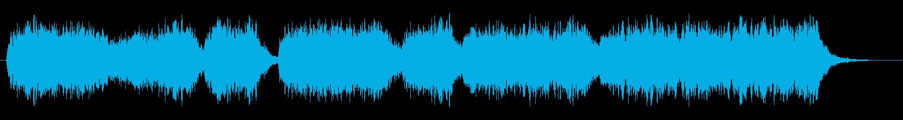 神秘的な聖歌、教会音楽の再生済みの波形