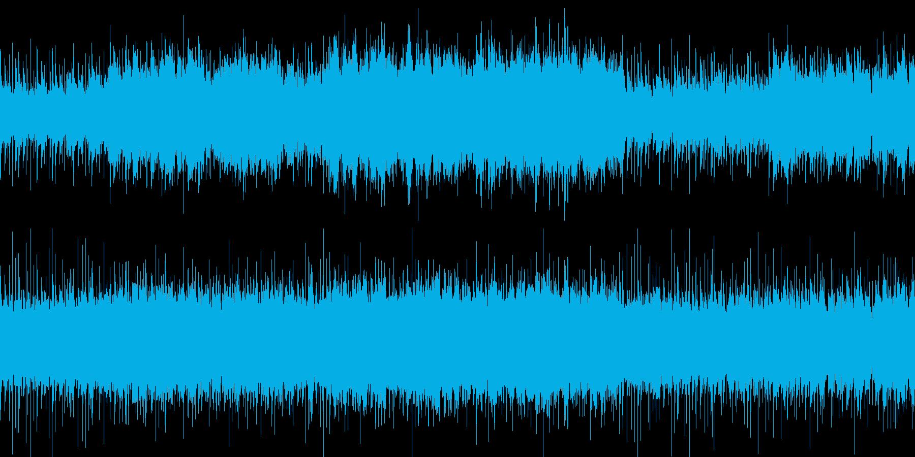 ループ 荒廃した砂漠のエスニックBGMの再生済みの波形