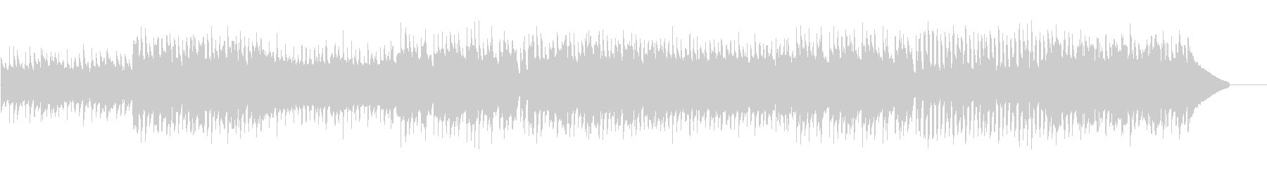 ワクワクするコンセプトムービー風/CMの未再生の波形