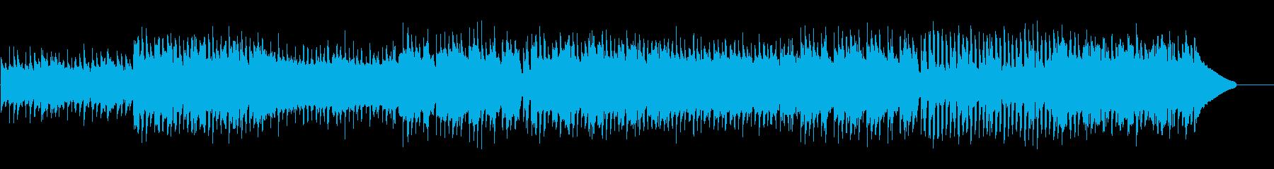 ワクワクするコンセプトムービー風/CMの再生済みの波形