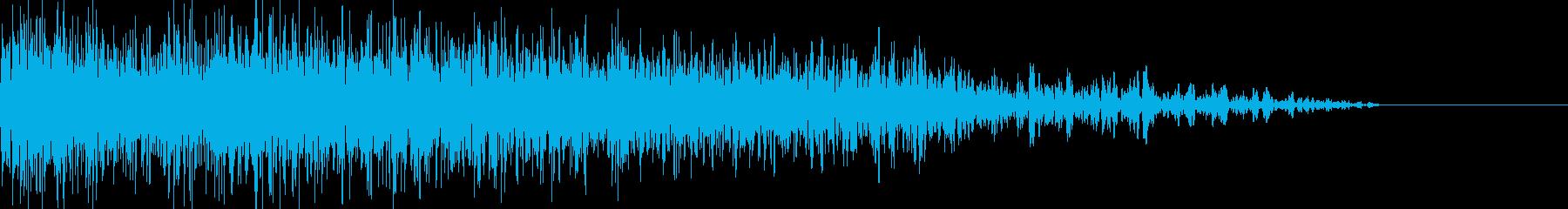 ロボット足音 タイプ13の再生済みの波形