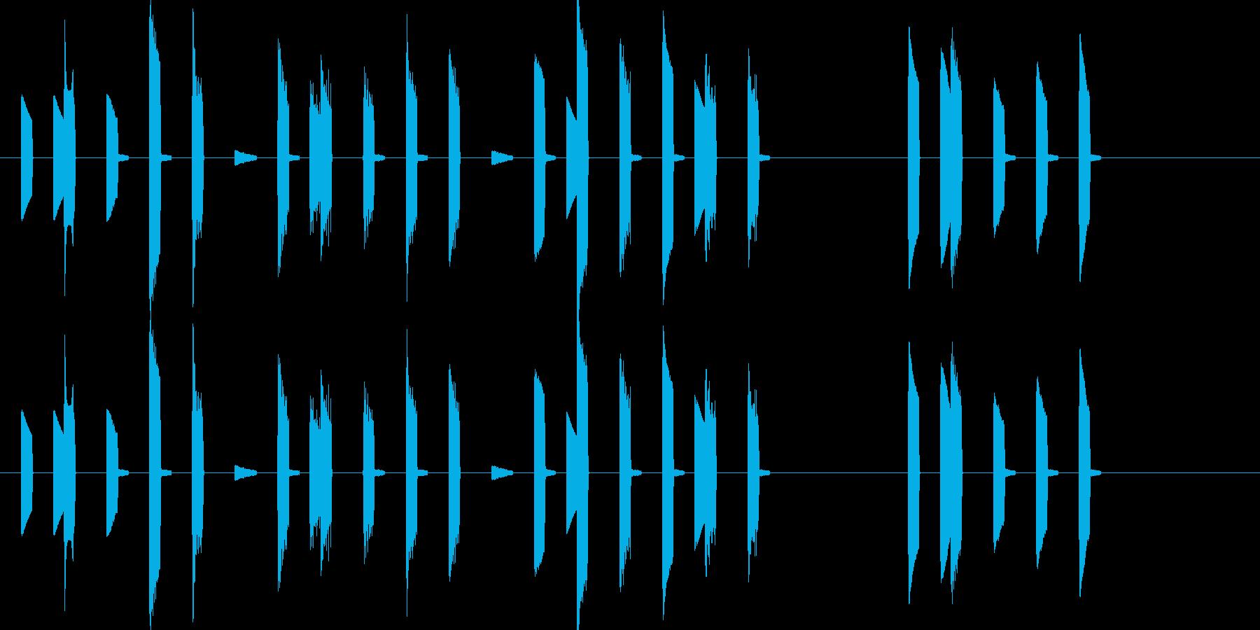 ハッピーバースデー 8bitの再生済みの波形
