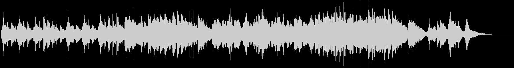 ノスタルジックなエレピバラードの未再生の波形