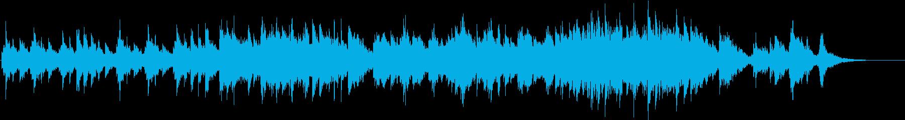 ノスタルジックなエレピバラードの再生済みの波形