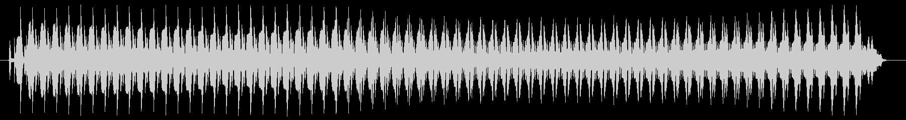 ヴョォ~。クイズ不正解・ブザー音の未再生の波形