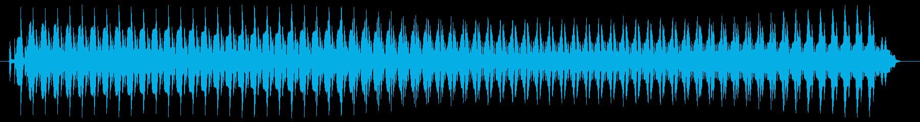 ヴョォ~。クイズ不正解・ブザー音の再生済みの波形