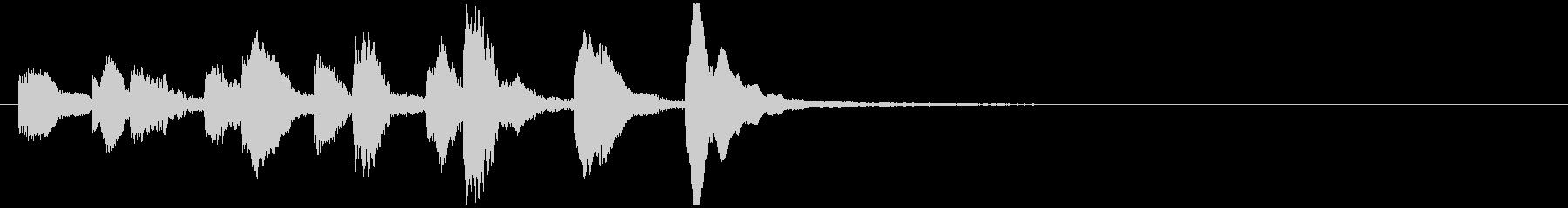 のほほんジングル034_かわいい+3の未再生の波形