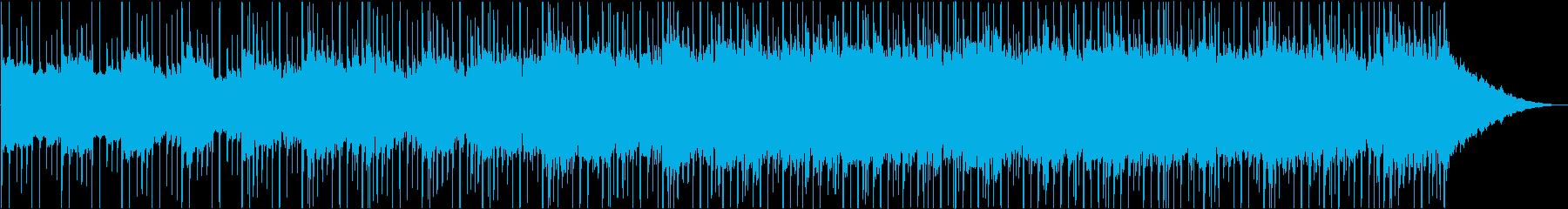 センチメンタルで神秘的な曲の再生済みの波形
