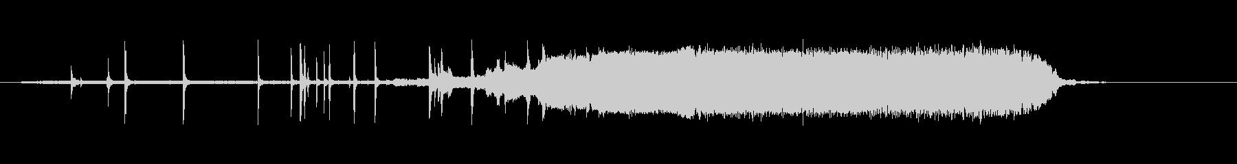 ストーブトップケトルまたはティーポ...の未再生の波形