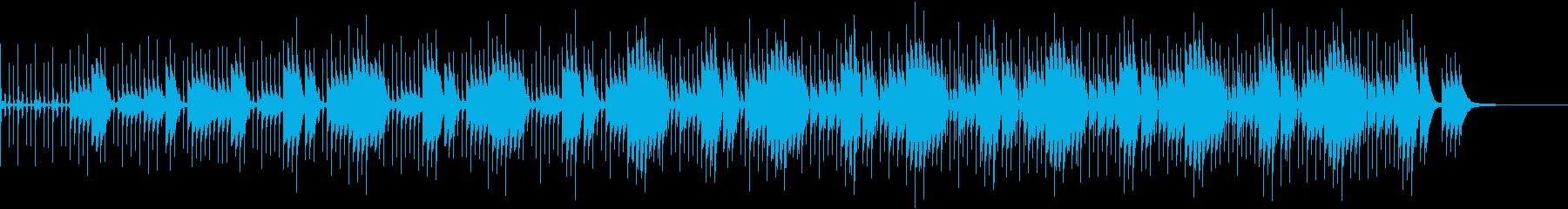 子供向けクイズにぴったりなBGMの再生済みの波形