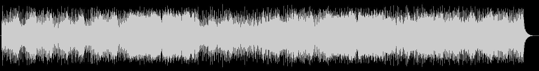 壮大で勢いのあるシンセサイザーサウンドの未再生の波形