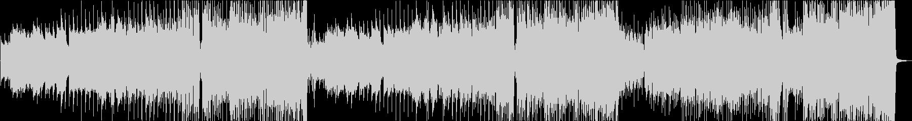 笛とピアノから始まる疾走感のあるワルツの未再生の波形