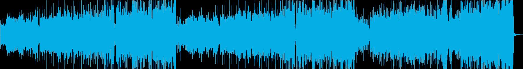 笛とピアノから始まる疾走感のあるワルツの再生済みの波形