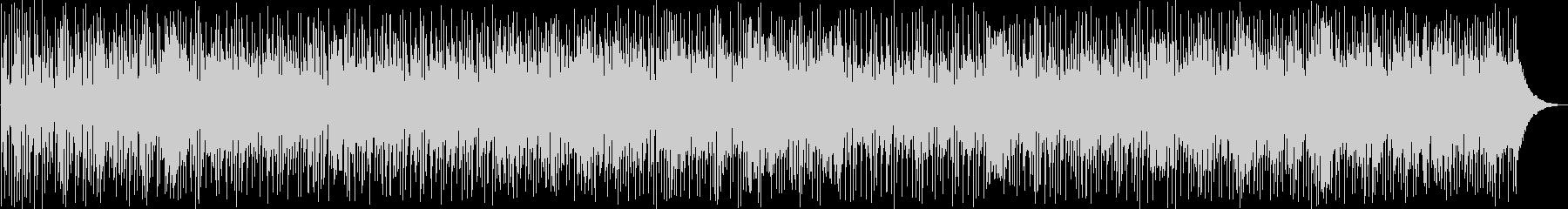 ワイルド感のあるファンクロックの未再生の波形