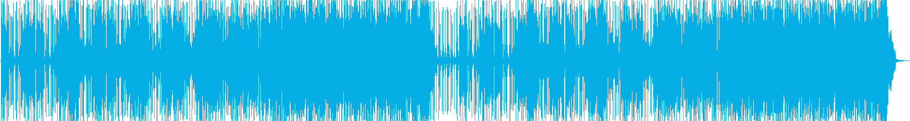 ノリノリで楽しいポップロックの再生済みの波形