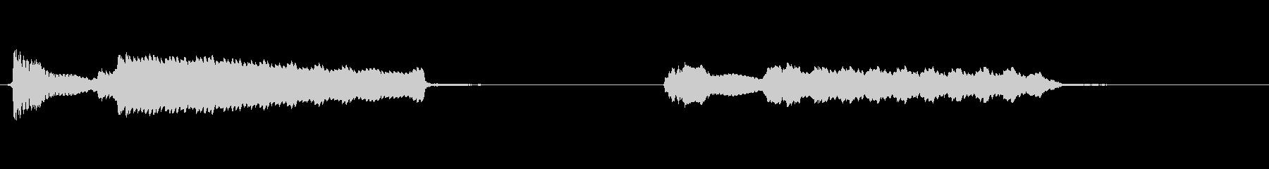 トークボックスという機材でのサンプルの未再生の波形