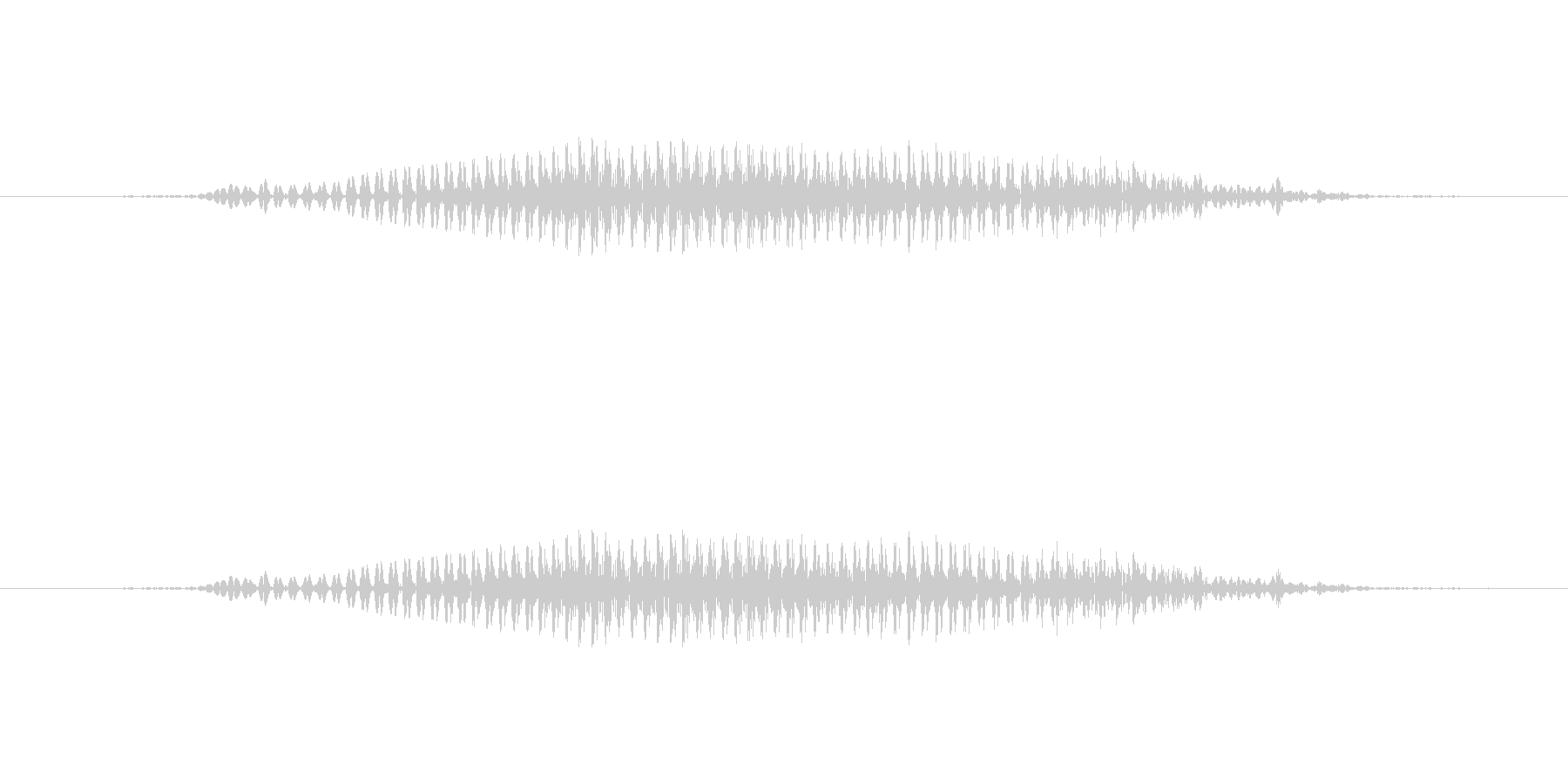 2 (にぃ)の未再生の波形