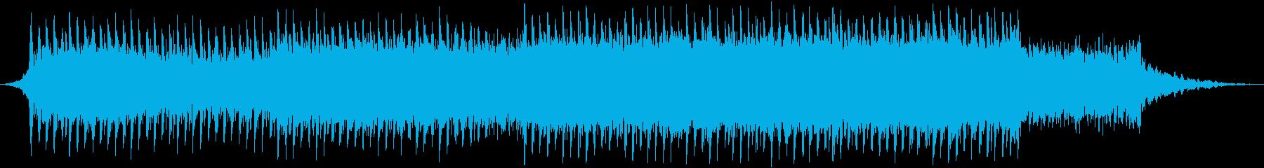 企業VP系100、爽やかギター4つ打ちbの再生済みの波形