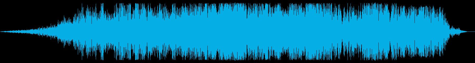 幻影が消えるの再生済みの波形