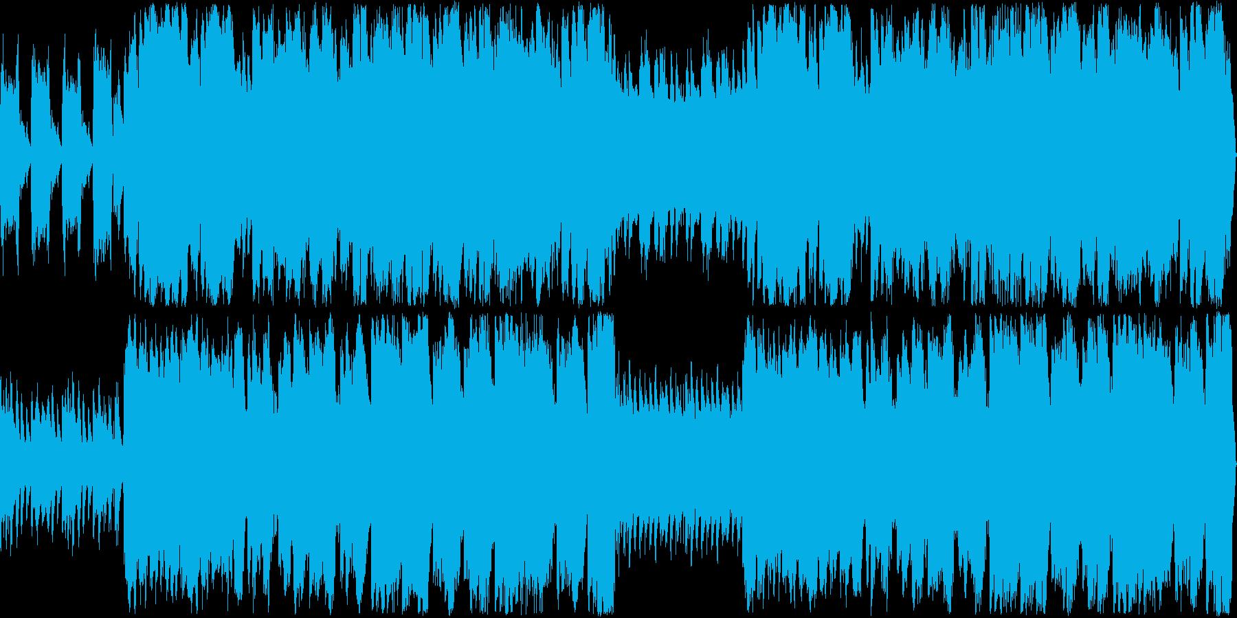 しっとりと可愛らしいワルツの再生済みの波形