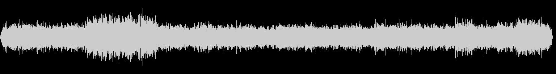新幹線車内走行音 環境音(ステレオ)の未再生の波形