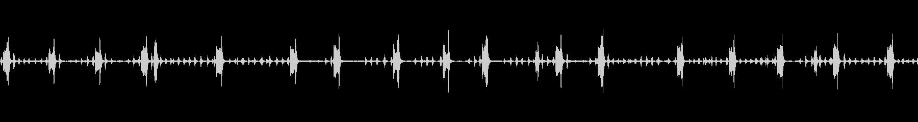 チキンスコーククルック編bの未再生の波形