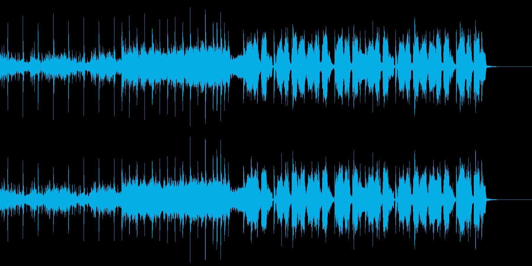 とにかく切ない変則ビートの再生済みの波形