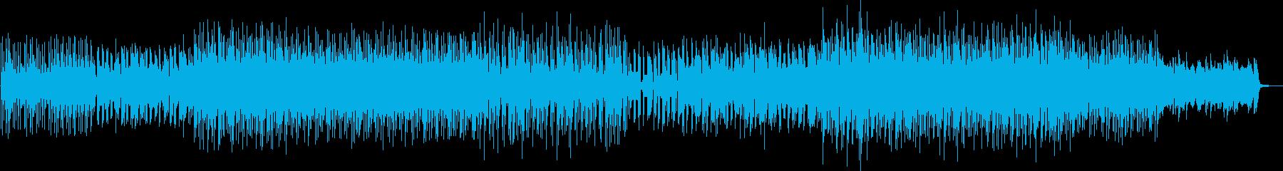 ブルージーなメロディーのHouseの再生済みの波形