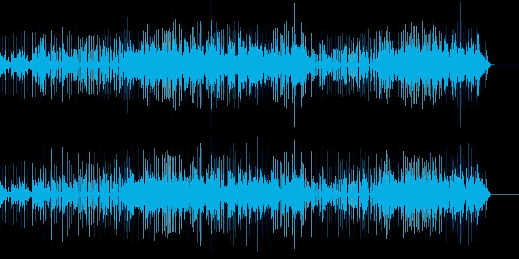 Mid Tempo 明るいの再生済みの波形