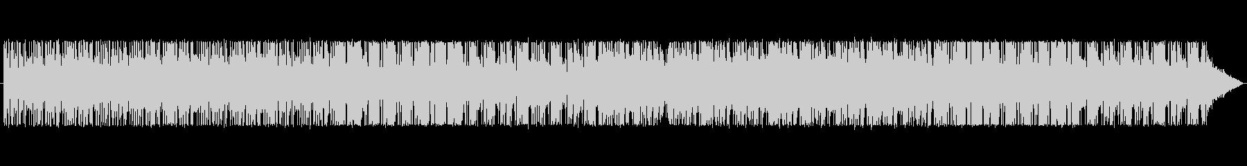 暗く不穏なR&B風BGMの未再生の波形