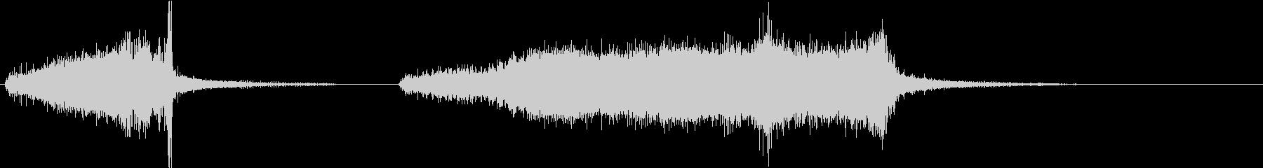 電気ドリル7の未再生の波形