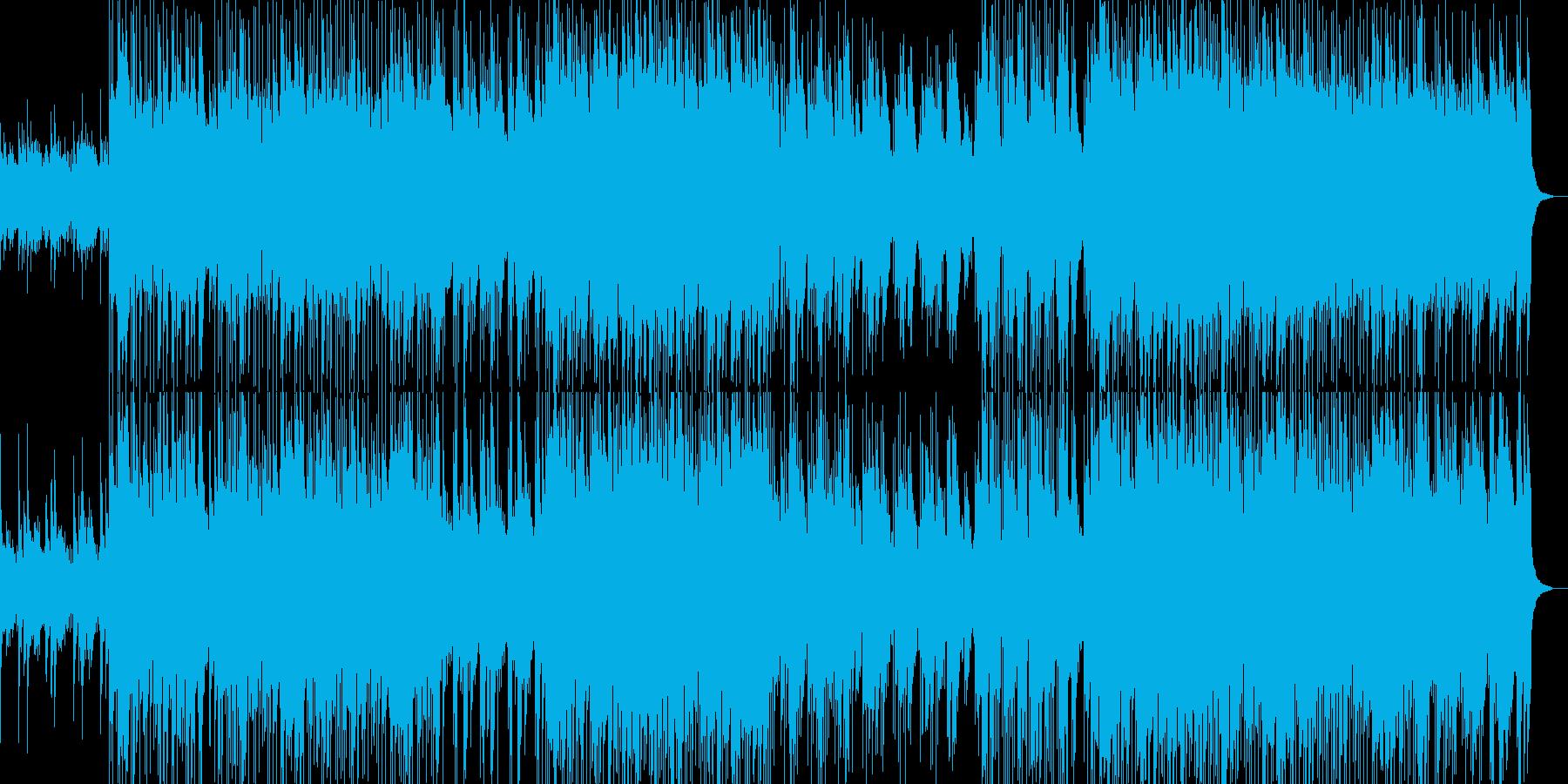 アップテンポで前向きなエレクトロポップの再生済みの波形