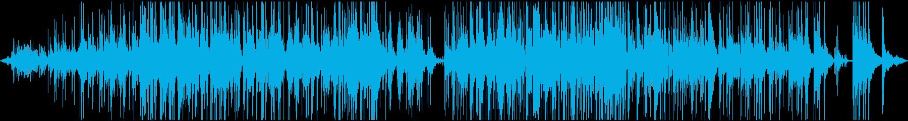 バッハのピースの平和なジャズトリー...の再生済みの波形