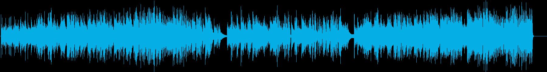 エキゾチック、おしゃれなアコギの再生済みの波形