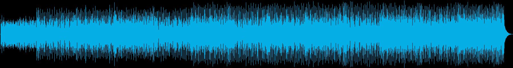フレンドリーで軽いオリジナルのクリ...の再生済みの波形