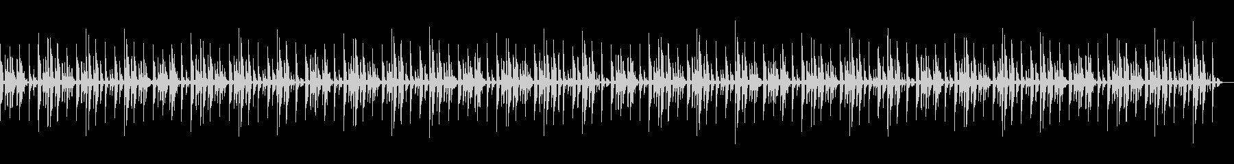 KANTお手軽エレクトロBGMの未再生の波形